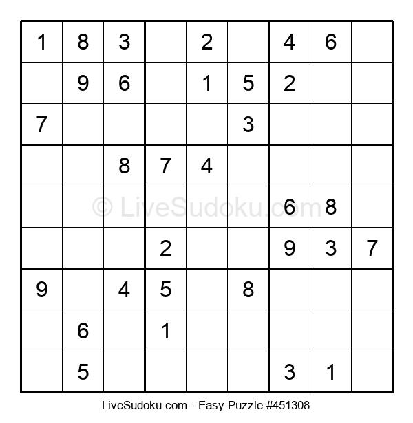 Beginners Puzzle #451308