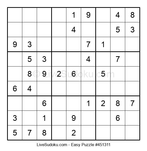 Beginners Puzzle #451311