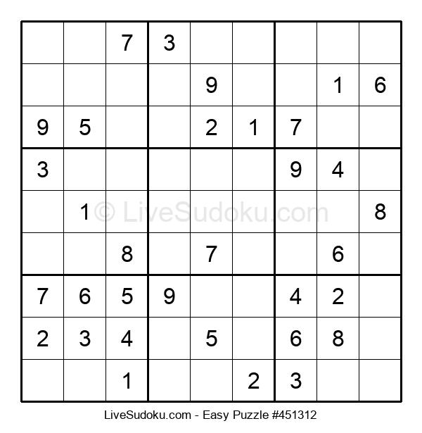 Beginners Puzzle #451312