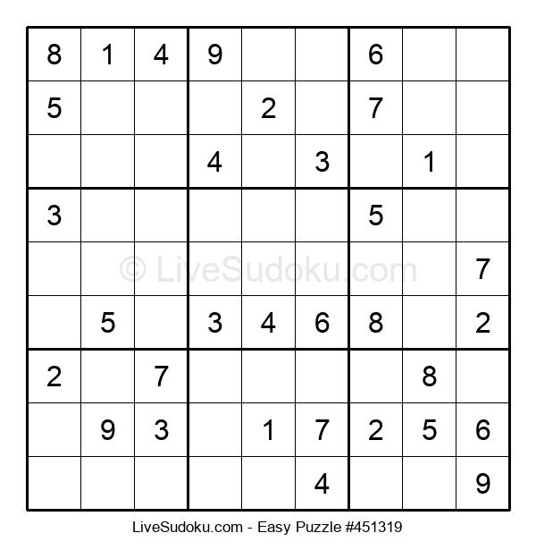 Beginners Puzzle #451319