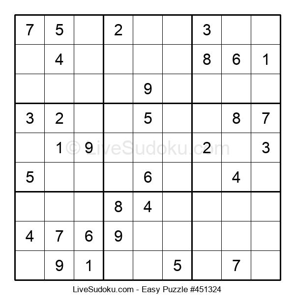 Beginners Puzzle #451324