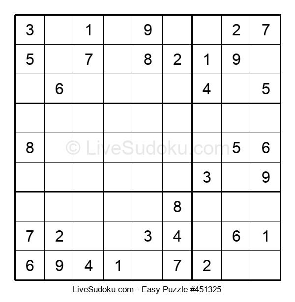 Beginners Puzzle #451325