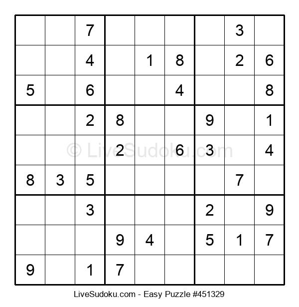 Beginners Puzzle #451329