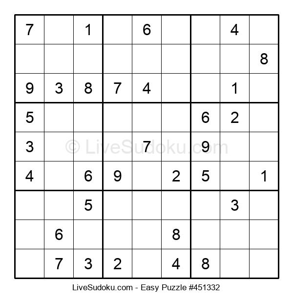 Beginners Puzzle #451332