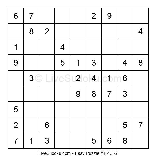 Beginners Puzzle #451355