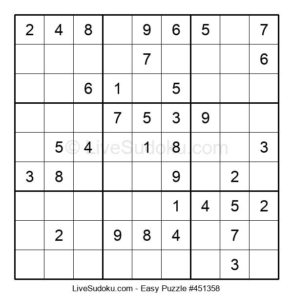 Beginners Puzzle #451358