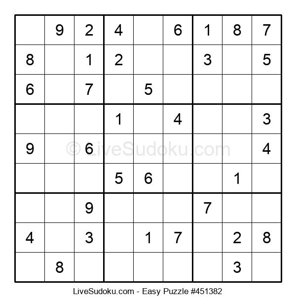 Beginners Puzzle #451382