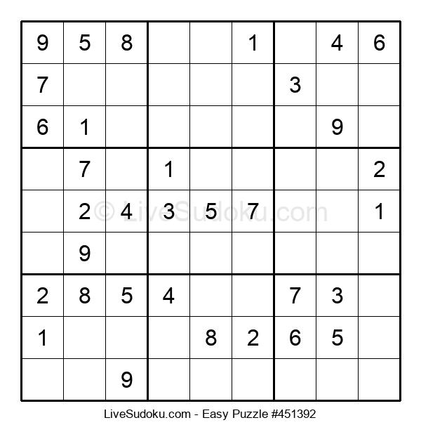 Beginners Puzzle #451392