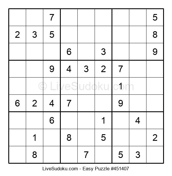 Beginners Puzzle #451407