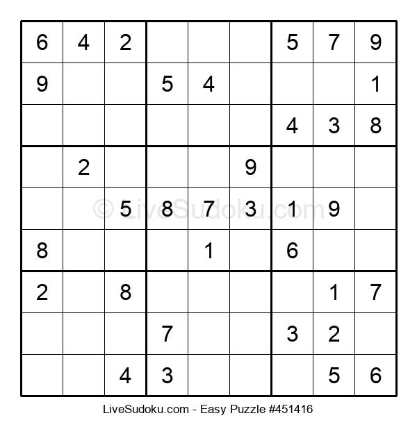 Beginners Puzzle #451416