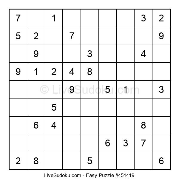 Beginners Puzzle #451419