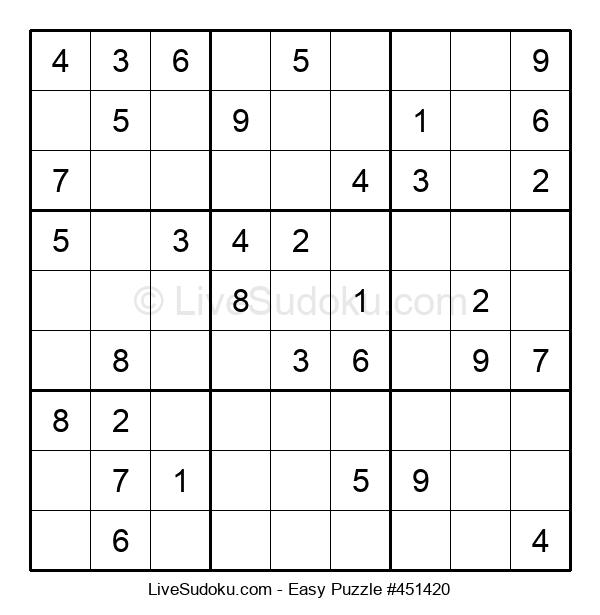 Beginners Puzzle #451420