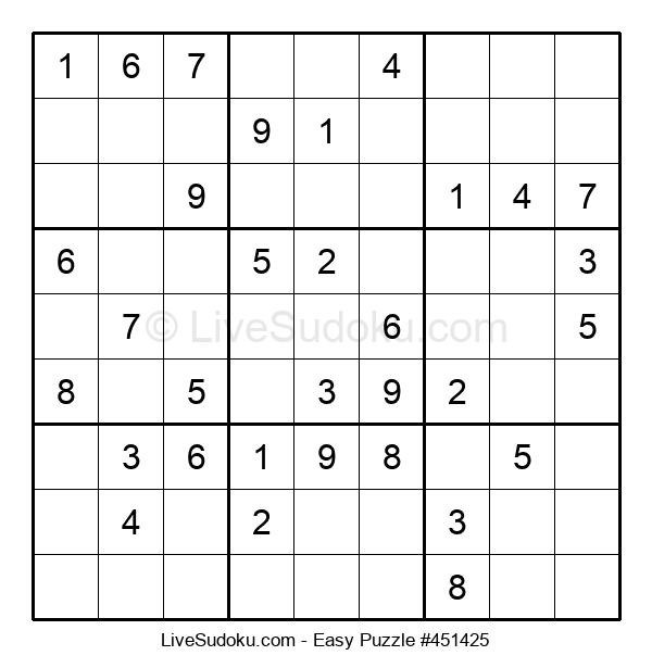 Beginners Puzzle #451425