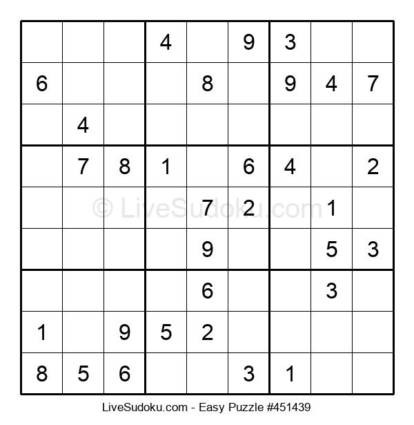 Beginners Puzzle #451439