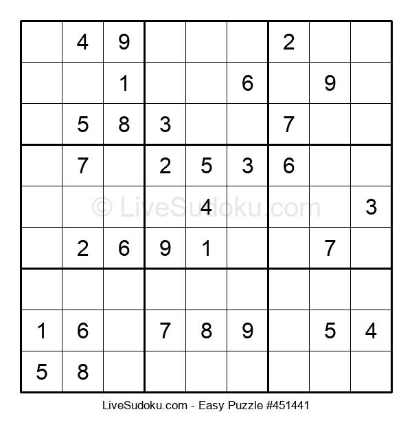 Beginners Puzzle #451441