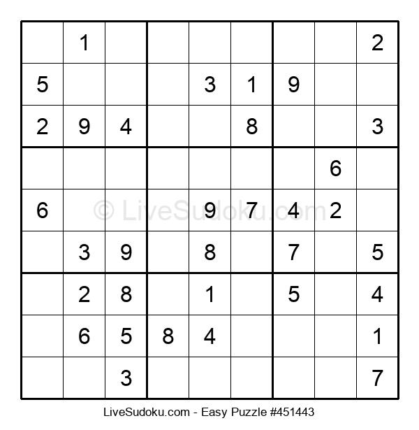 Beginners Puzzle #451443
