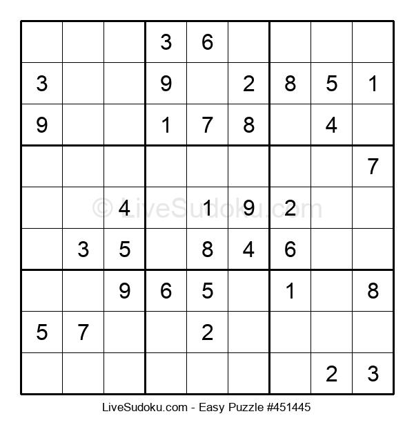 Beginners Puzzle #451445