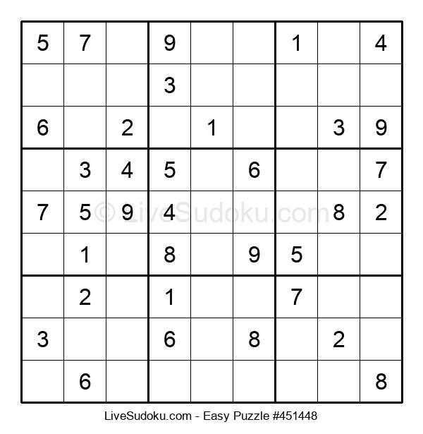 Beginners Puzzle #451448