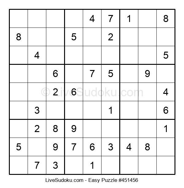 Beginners Puzzle #451456