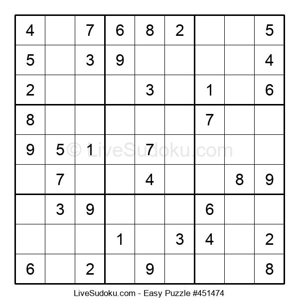 Beginners Puzzle #451474