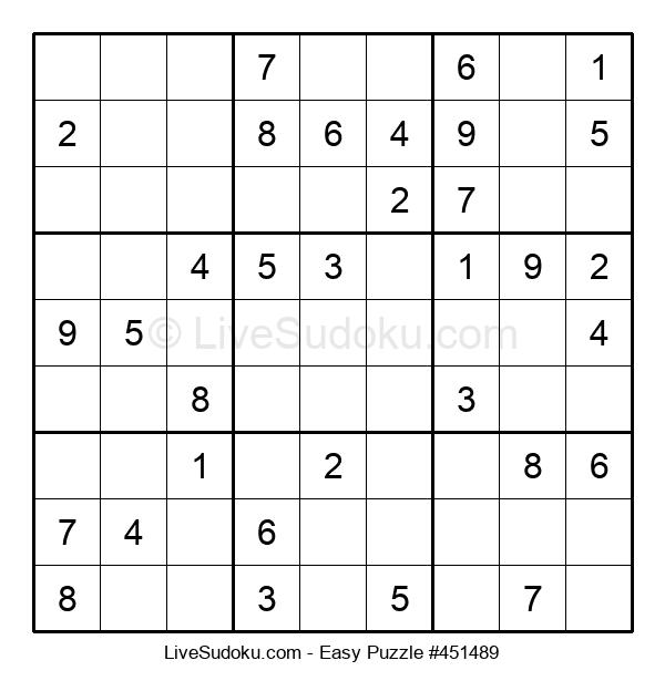 Beginners Puzzle #451489