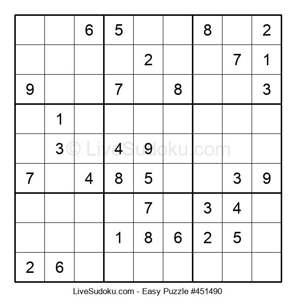 Beginners Puzzle #451490