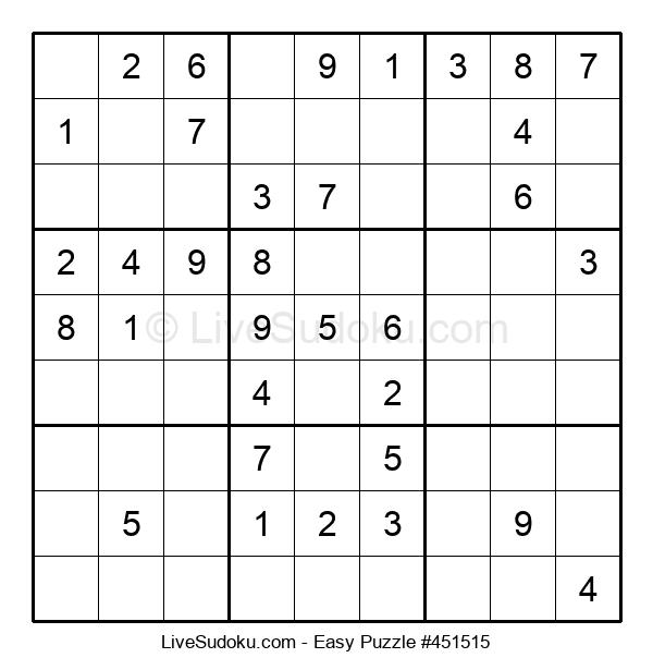 Beginners Puzzle #451515
