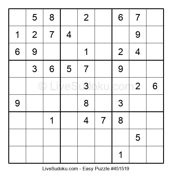 Beginners Puzzle #451519