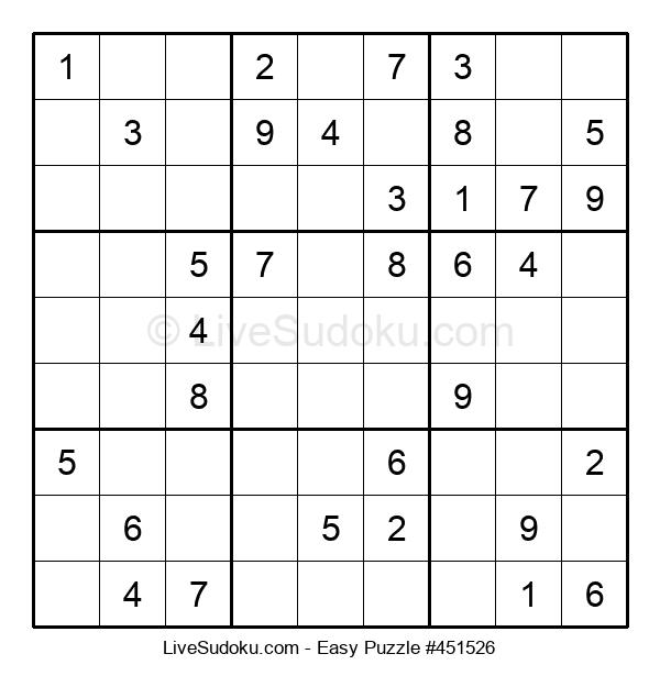 Beginners Puzzle #451526