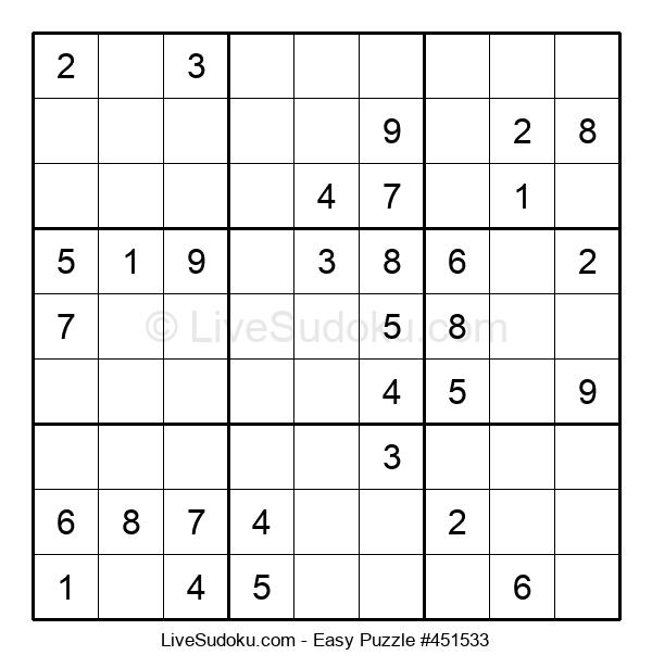 Beginners Puzzle #451533
