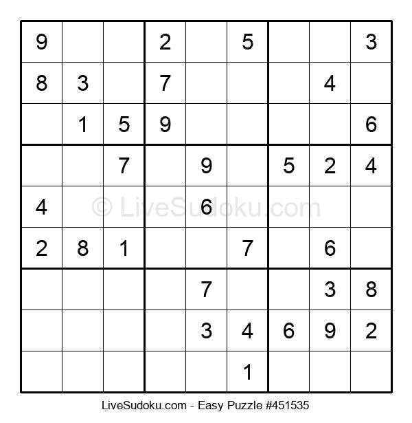 Beginners Puzzle #451535