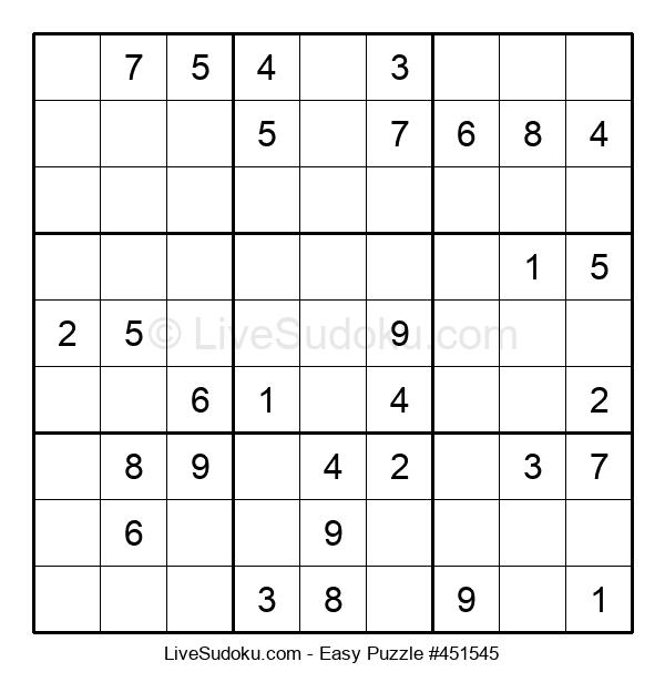 Beginners Puzzle #451545