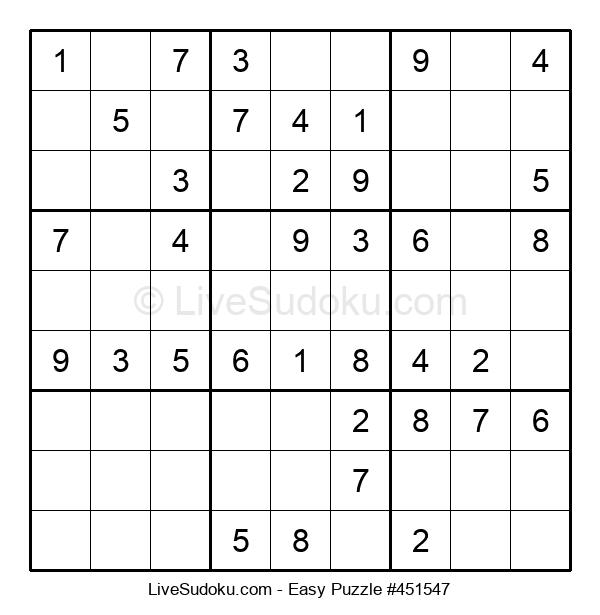 Beginners Puzzle #451547