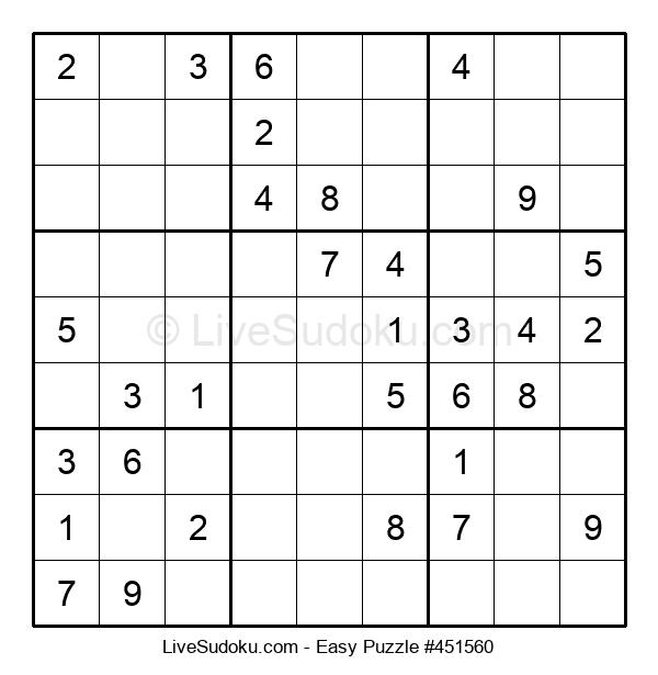 Beginners Puzzle #451560