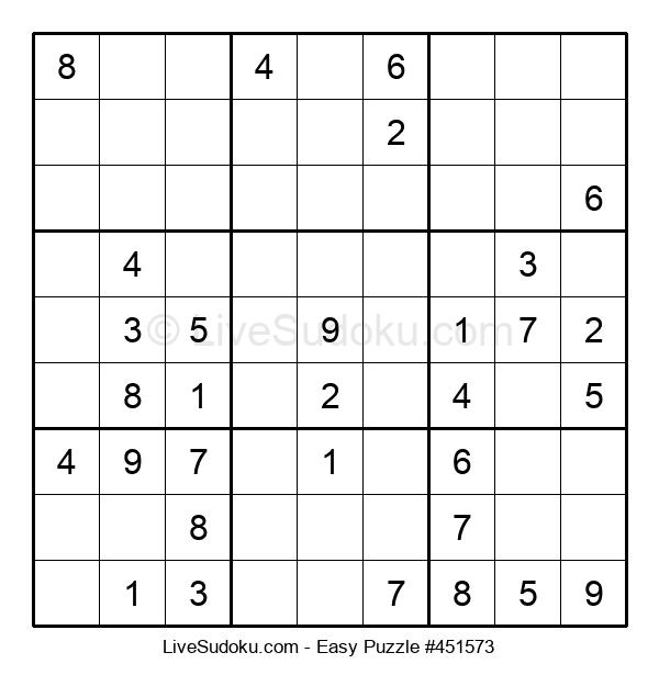 Beginners Puzzle #451573
