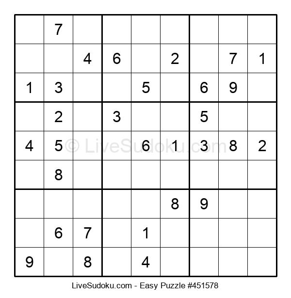 Beginners Puzzle #451578