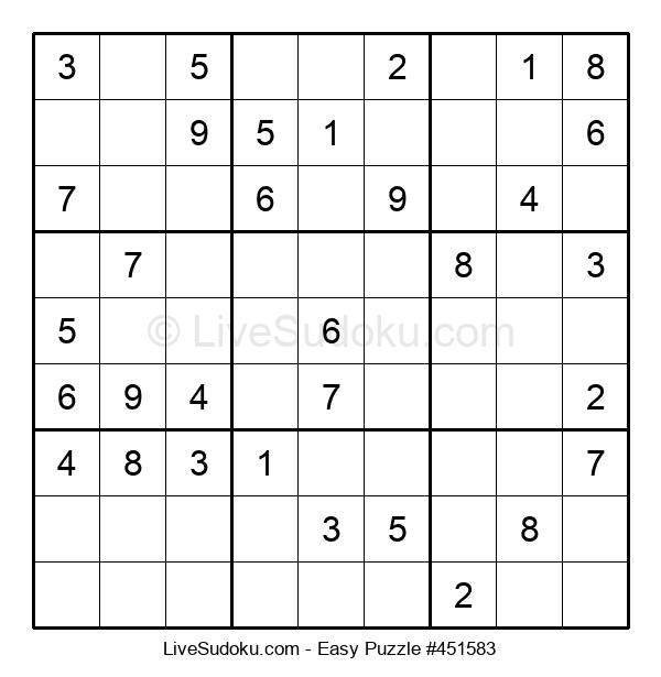 Beginners Puzzle #451583