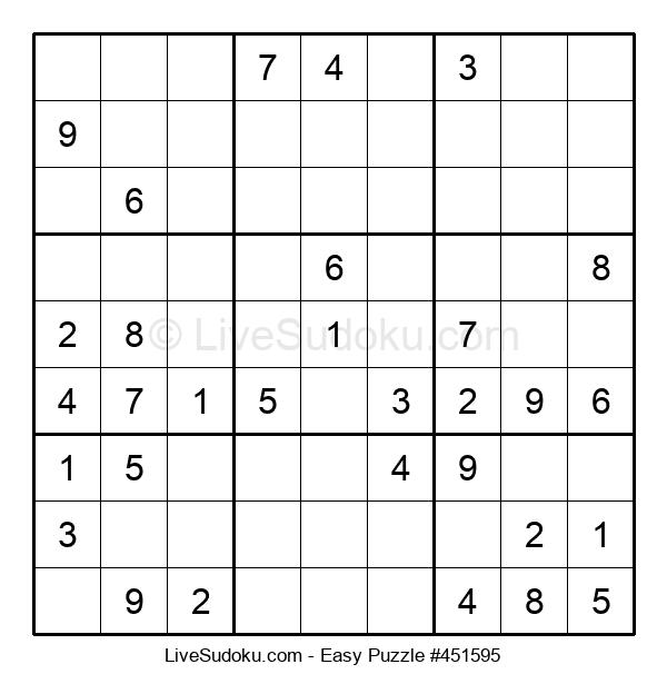 Beginners Puzzle #451595