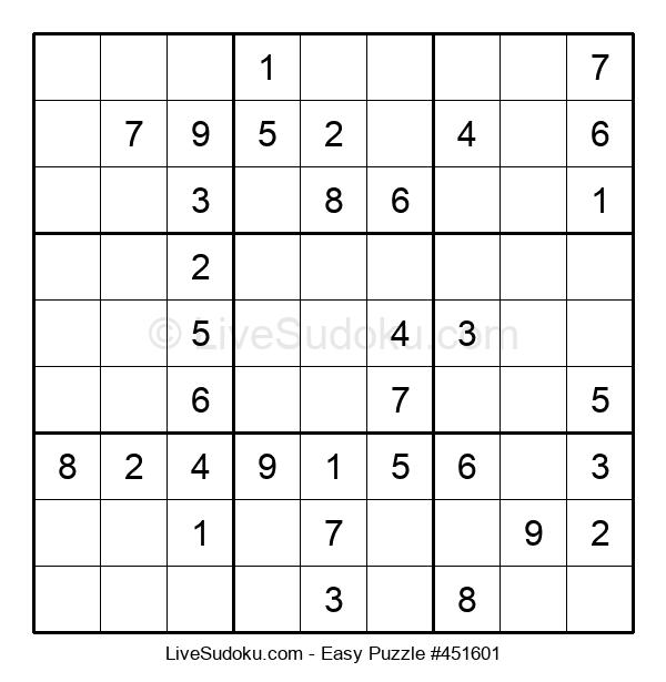 Beginners Puzzle #451601