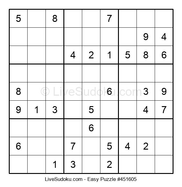 Beginners Puzzle #451605