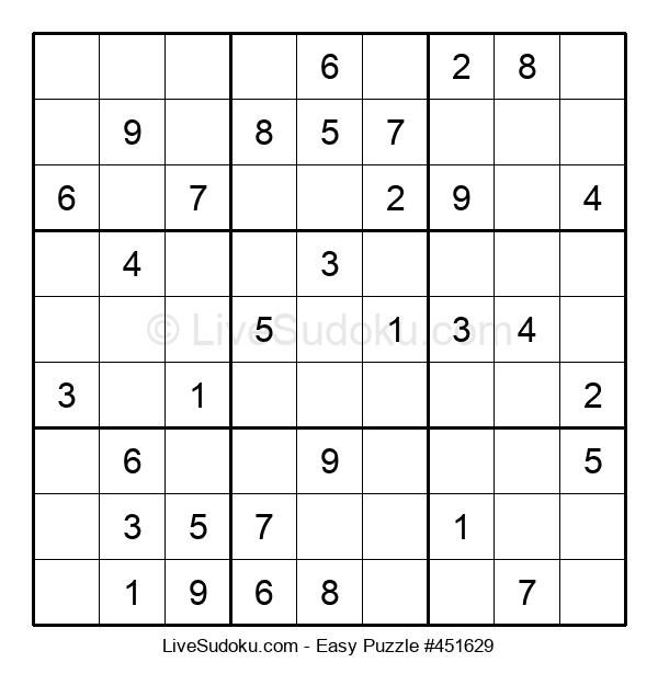 Beginners Puzzle #451629