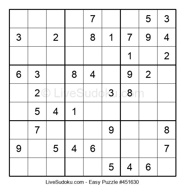 Beginners Puzzle #451630