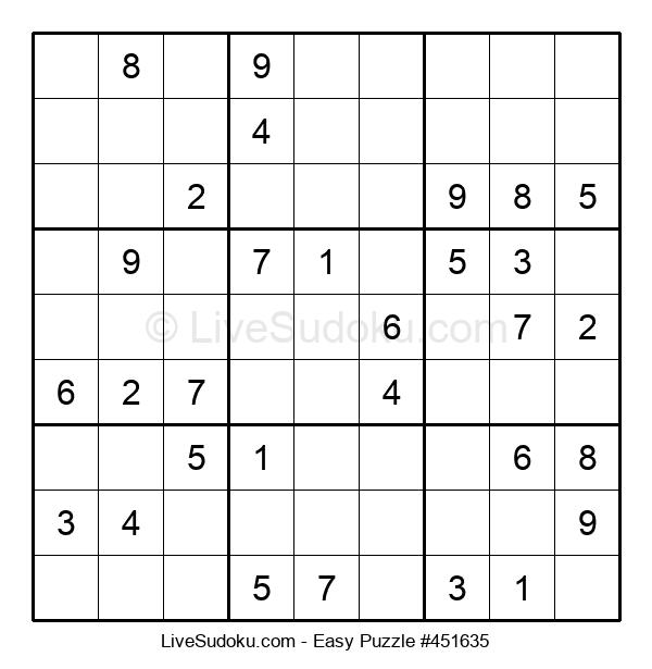 Beginners Puzzle #451635