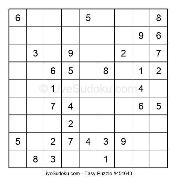 Beginners Puzzle #451643