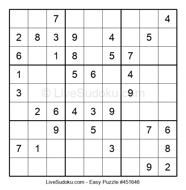 Beginners Puzzle #451646