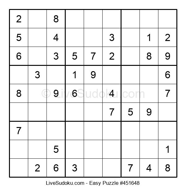 Beginners Puzzle #451648