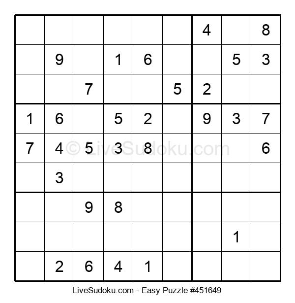 Beginners Puzzle #451649