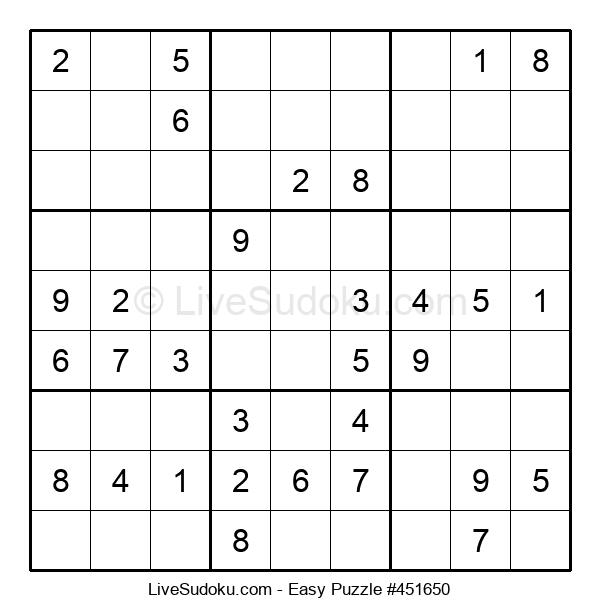 Beginners Puzzle #451650