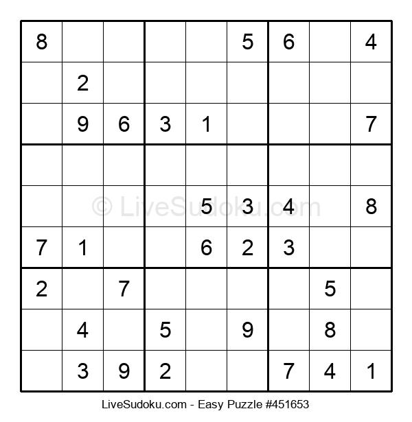 Beginners Puzzle #451653