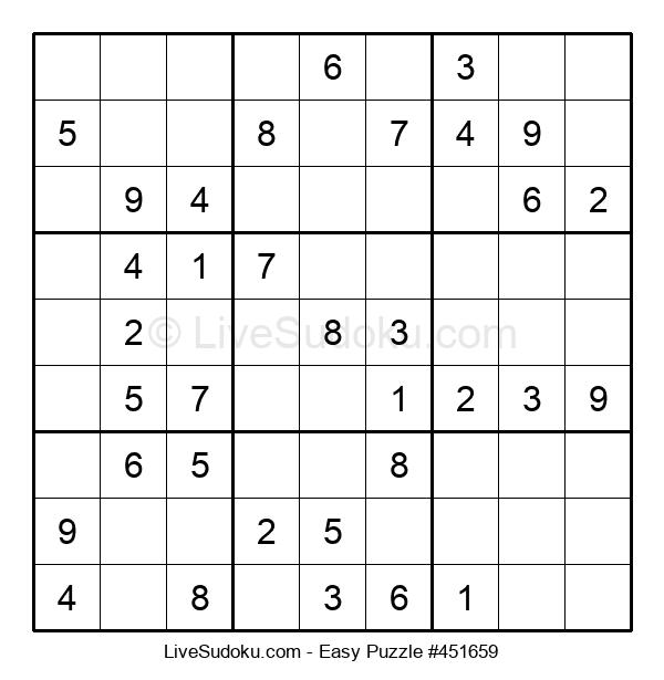 Beginners Puzzle #451659